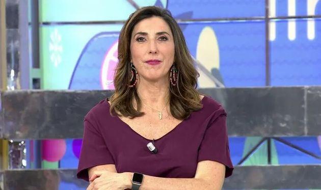 La presentadora de 'Sálvame' Paz