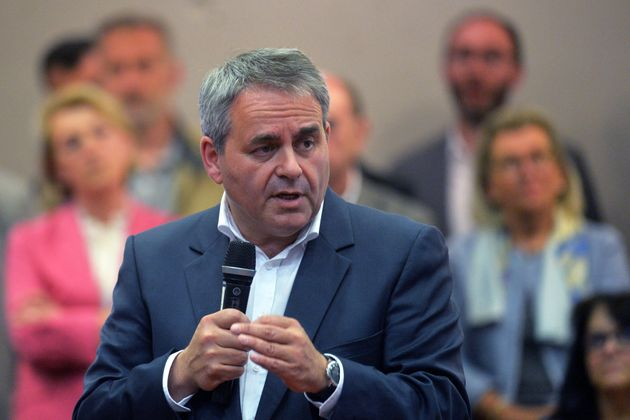 Xavier Bertrand, président de la région des Hauts-de-France, le 21 juin 2019 à
