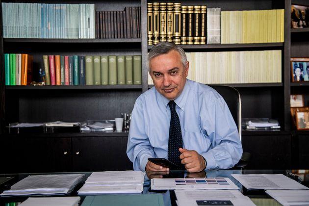 Maurizio Molinari, direttore di Repubblica, nel suo