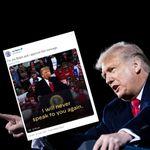 Biden trolle Trump qui affirme que s'il perd les Américains ne le verront plus