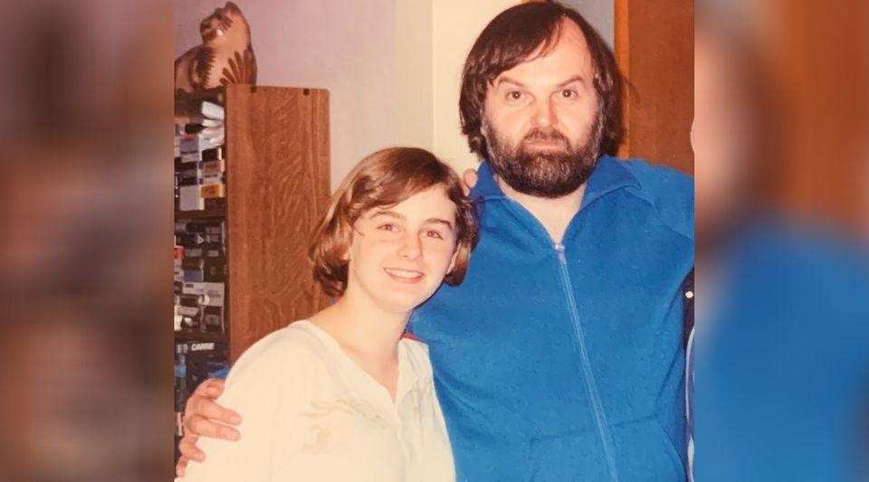 Verity et James Hill en 1986, à Richmond Hill, en