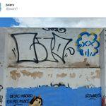 Triunfa con el grafiti que ha pintado sobre Díaz Ayuso tras las últimas