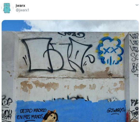 El grafiti de