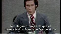"""""""Franco sigue críticamente muerto"""": cuando 'Saturday Night Live' estuvo dos años riéndose de la muerte del"""