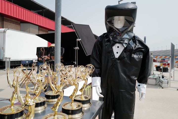 The first-ever virtual Emmy Awards unfolded on Sunday.