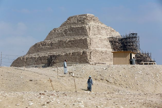 Pyramide à degrés de Saqqarah, à Gizeh (photo