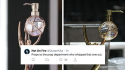 This Emmy Statue Holding Hand Sanitiser Is Too 2020, But People Love