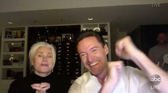 Hugh Jackman congratulates Mark Ruffalo for his 2020 Emmy Award victory