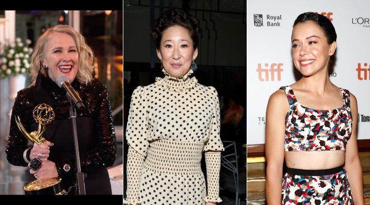 Catherine O'Hara, Sandra Oh and Tatiana Maslany are all Canadians who had memorable moments at this year's Emmys.