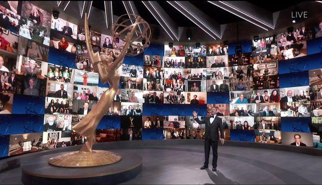 Jimmy Kimmel apresentou o Emmy 2020 com a participação de praticamente todos os concorrentes...