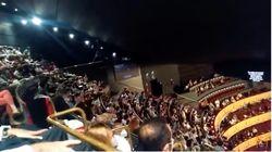 El Teatro Real suspende una función tras las protestas en el 'gallinero' por falta de distancia de