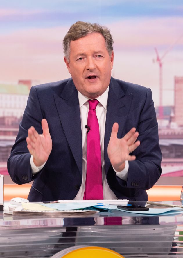 Piers Morgan Urges People To Be Realistic About Spending Christmas Under Coronavirus Restrictions