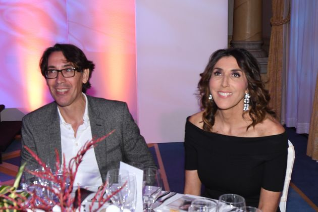Paz Padilla y Antonio Vidal en los premios Poder de