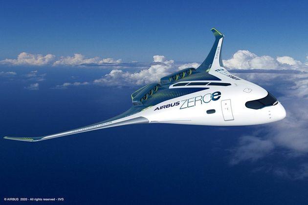 Ce troisième concept, baptisé BWB (pour Blended-Wing Body) est une aile volante dans laquelle la place...