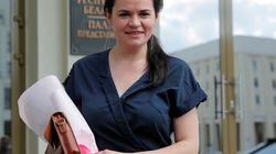 Svetlana Tikhanovskaya all'Ue: