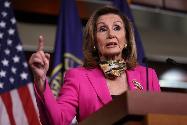 Nancy Pelosi, ici à Washington, le 18 septembre