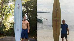 Il avait perdu sa planche à Hawaï, ce surfeur la retrouve deux ans plus tard à 8000