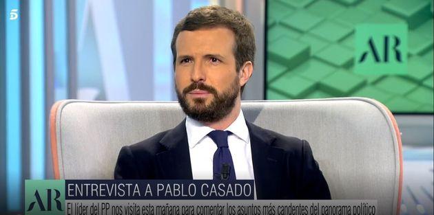 Pablo Casado, en 'El Programa de Ana