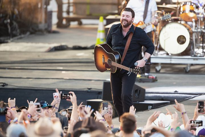 As part of South Dakota's Sportsmen's Showcase, country singer Chris Young was also going to give a concert, but that has bee