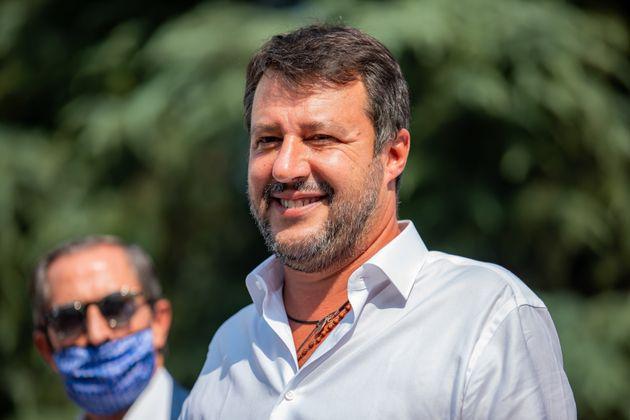 L'imbarazzo di Matteo Salvini: