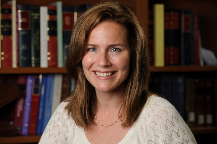 Amy Coney Barrett, a 7th Circuit Court of Appeals judge, is thought to be at the top of President Donald Trump's list of favorites for the Supreme Court.