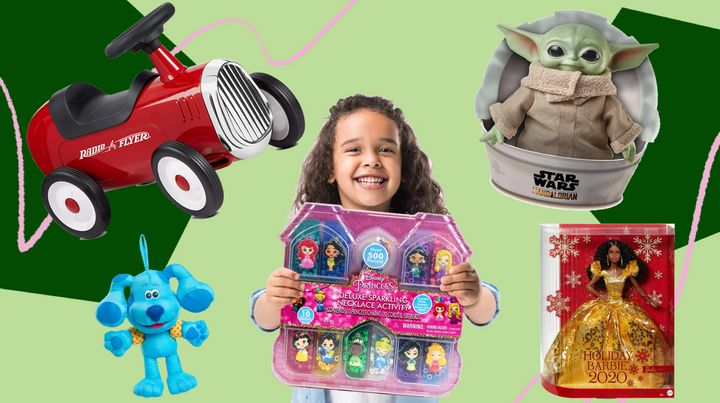 These are the top toys your kids will want on their wish list this year, including a holiday edition of Barbie and Baby Yoda plush.