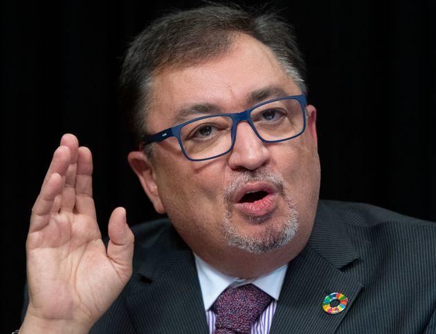 Horacio Arruda a déclaré que les zonesd'alerte orange pourraient devenir des...