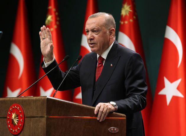 Ερντογάν: «Οσοι επιχειρούν να ανατρέψουν τις ισορροπίες στην Μεσόγειο, σκάβουν τον τάφο