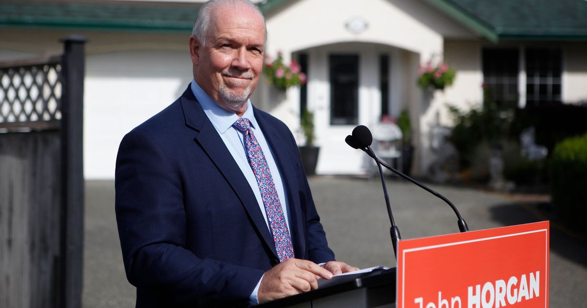Why B.C.'s Premier Called An Election A Year Early