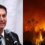 Enquanto Pantanal arde em chamas, Bolsonaro defende na ONU política ambiental do