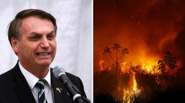 Na Assembleia Geral da ONU, Jair Bolsonaro minimizará maior incêndio da História...
