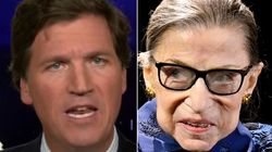 Tucker Carlson Slams Ginsburg's 'Pathetic' Dying