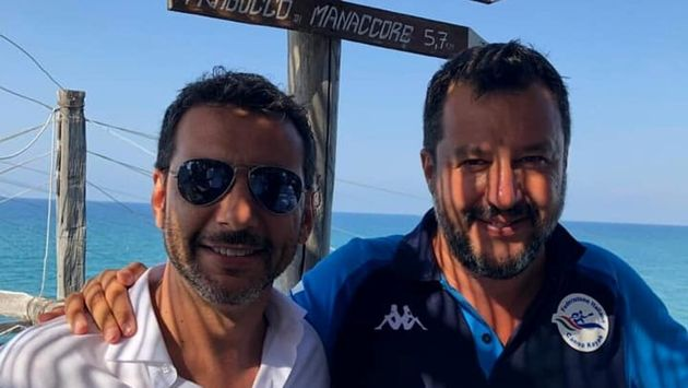 Matteo Salvini e Primiano Di