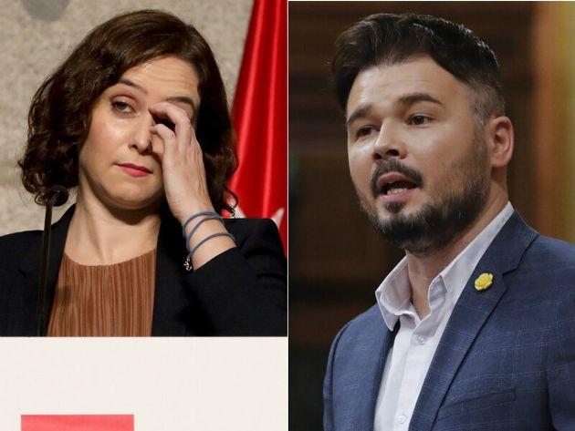 Isabel Díaz Ayuso y Gabriel