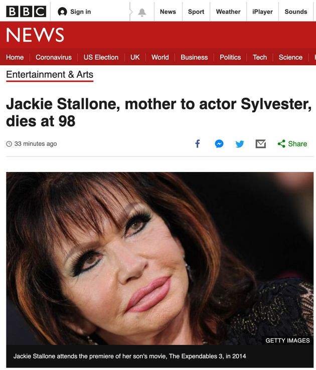 The death of Jackie