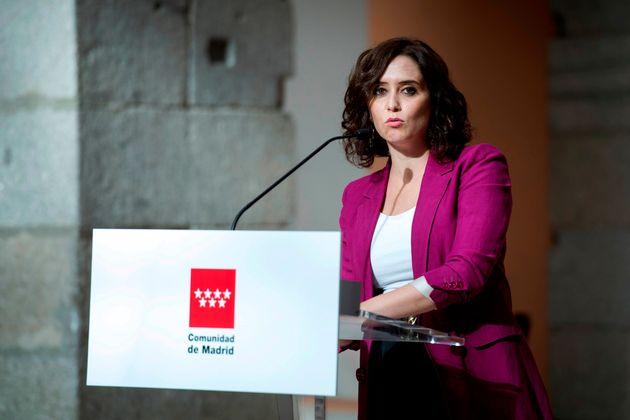 La Presidenta de la Comunidad de Madrid, Isabel Díaz