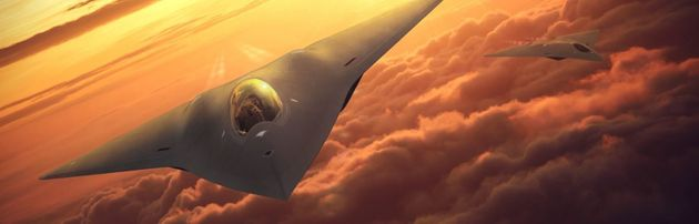 Concept φωτογραφία από τη Lockheed Martin για το «Next Gen Fighter» των