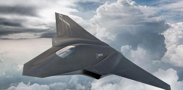 Concept εικόνα για το μαχητικό επόμενης γενιάς από τη Boeing Phantom