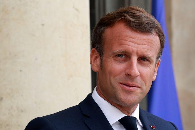 Emmanuel Macron à l'Elysée, le 15 juillet