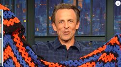 Seth Meyers Crochets A Blanket In The Time It Takes To Review GOP