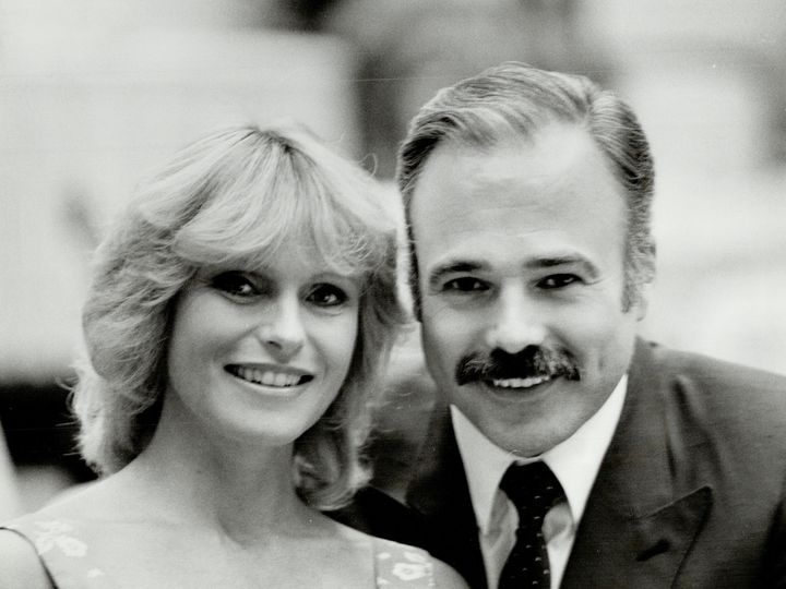 An undated file photo of Michael and Susan Hogan.