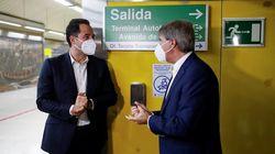 A 22 de septiembre, Madrid instala dispensadores de gel hidroalcohólico en 50 estaciones de