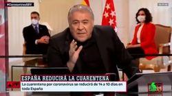Sutil pero con mucho simbolismo: la inusual despedida de Ferreras en 'Al Rojo