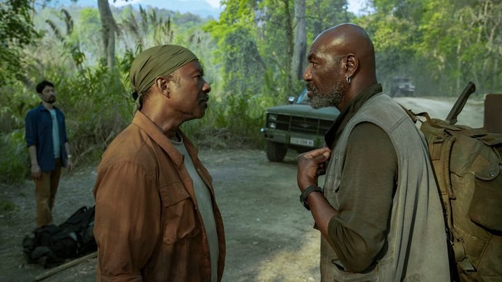 "Clarke Peters and Delroy Lindo in ""Da 5 Bloods"" on Netflix."