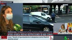 Andrea Levy, trending topic por este 'patinazo' en directo en 'Al Rojo