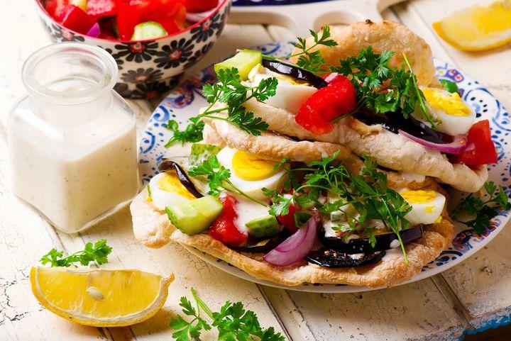 Israeli Sandwich Sabich