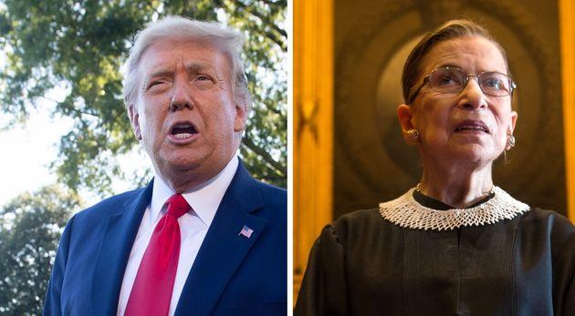 Donald Trump a la majorité requise pour désigné la remplaçante de Ruth Bader Ginsburg's à la Cour Suprême...
