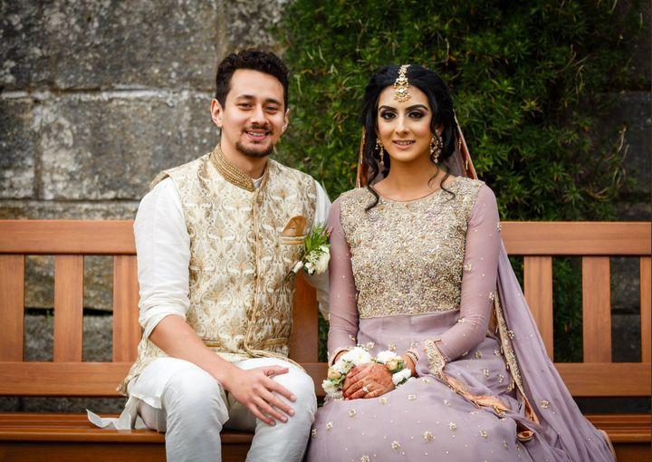 Ali Marks and Safina Ahmed