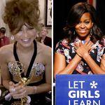 Em live, Michelle Obama parabeniza Zendaya por Emmy: 'Estou tão orgulhosa de