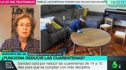 La viróloga Margarita del Val contradice a un dirigente político: lo desarma en dos